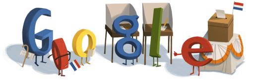 Google Logo: Dutch 2012 general election