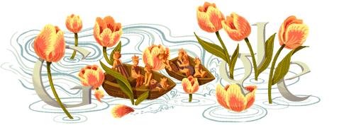 Google Logo: 2012 Queen's Day in Netherlands