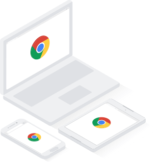 Chrome werkt op alle apparaten: Chromebook, Pixel en desktop.