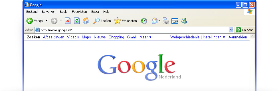 Stel Google in als uw standaardzoekprovider – Google