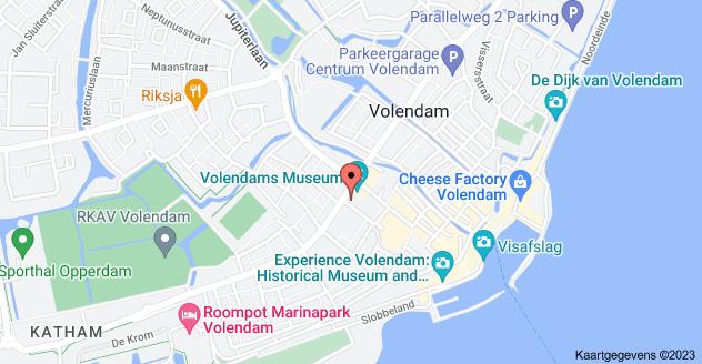 Kaart van Julianaweg 98, 1131 DE Volendam