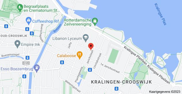 Kaart van Jericholaan 71A, 3061 HC Rotterdam