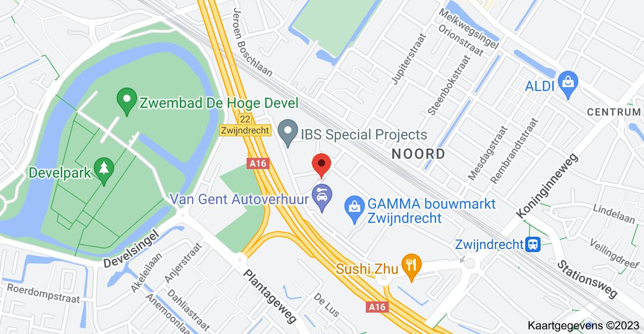 Kaart van Dirck Uytenboogaertstraat 6, 3331 ES Zwijndrecht