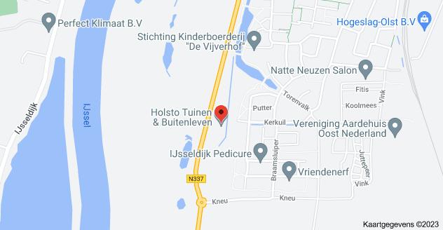 Kaart van Rijksstraatweg 12A, 8121 PD Olst
