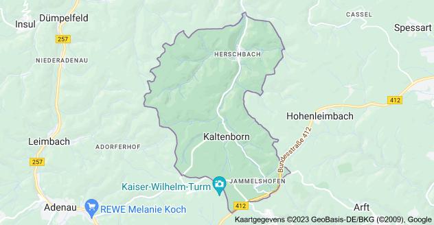 Kaart van 53520 Kaltenborn, Duitsland
