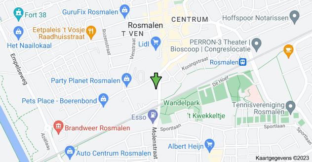 Kaart van Burgemeester Woltersstraat 1, 5241 EH Rosmalen
