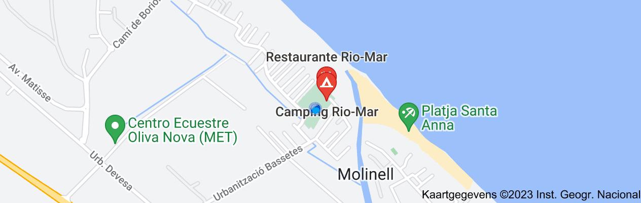 Kaart van Rio Mar