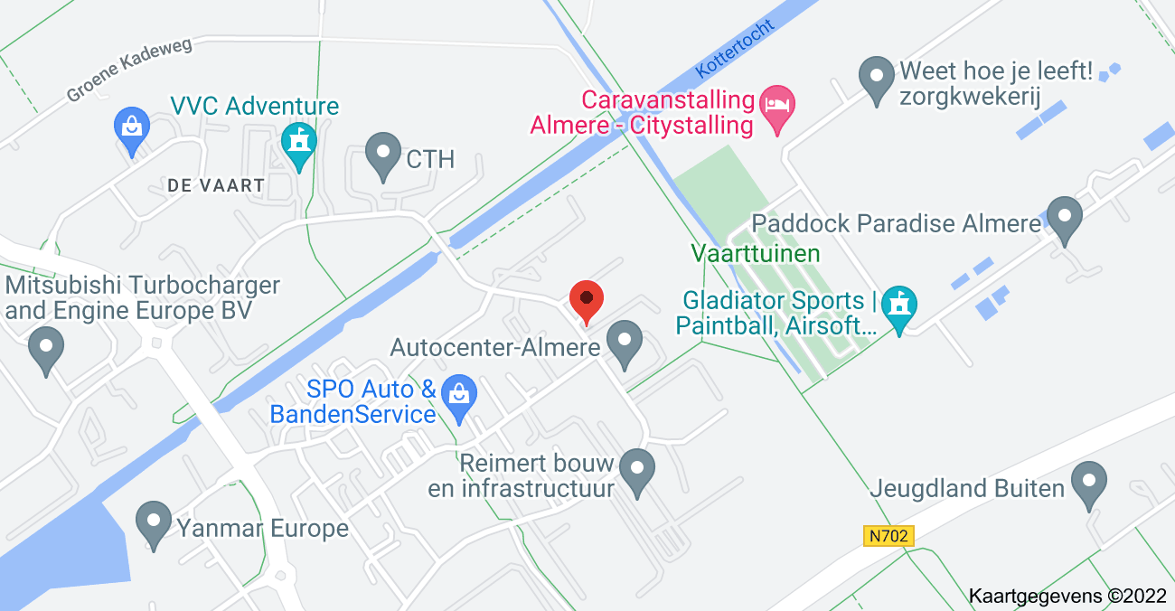 Kaart van Bolderweg 28, 1332 BG Almere